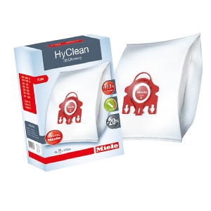 Miele FJM HyClean 3D Efficiency Dust Bag & Filter Pack of 4