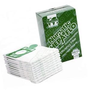 Numatic (NVM-4BH) Hepaflo Dust Bags - pack of 10