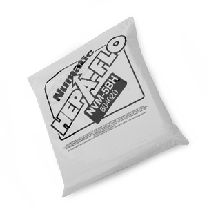 Numatic (NVM-5BH) 356MM Hepaflo Open Dust Bags - Pack of 10